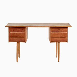 Vintage Danish Teak Desk, 1960s