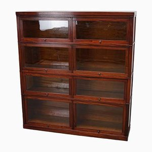Vintage Mahogany Bookcase from Macey UK, 1930s