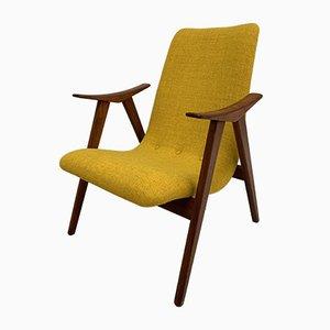 Vintage Teak Armchair by Louis van Teeffelen for WéBé, 1960s
