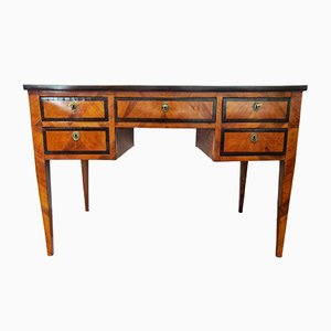 Antique Cherry and Ebony Desk