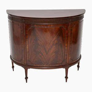 Antique Edwardian Bow-Fronted Cabinet