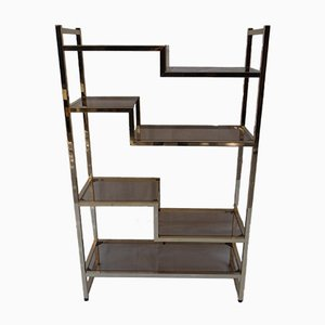 Vintage Etagere by Willy Rizzo, 1970s