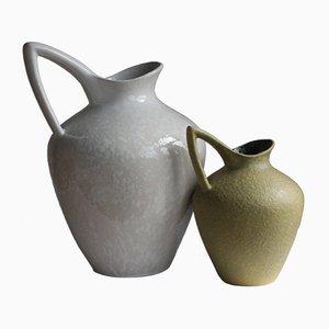 Deutsche Mid-Century Vasen von Emons & Sohn für Es Keramik, 1960er, 2er Set
