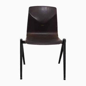 Industrielle niederländische S22 Stühle aus Schichtholz von Galvanitas, 1960er, 30er Set