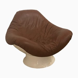 Sessel mit Gestell aus Glasfaser von Mario Brunu für Comfort Italia, 1960er