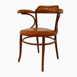 Antiker Armlehnstuhl aus Bugholz von Thonet