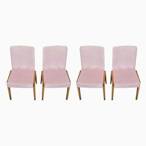 Aga Dining Chairs by Józef Chierowski, 1970s, Set of 4