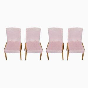 Aga Esszimmerstühle von Józef Chierowski, 1970er, 4er Set
