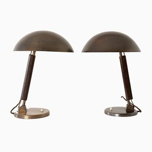 Swiss Table Lamp by Karl Trabert for B.A.G., 1930s