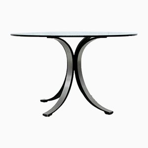 Round T69 Dining Table by Osvaldo Borsani for Tecno, 1960s