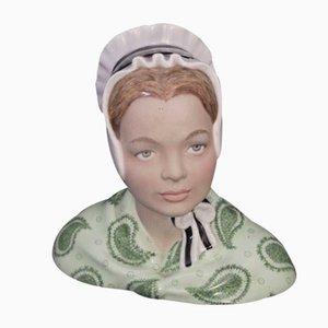 Busto femminile di Bigi Torino, anni '40