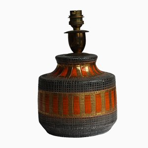 Lámpara de mesa italiana Mid-Century de Bitossi
