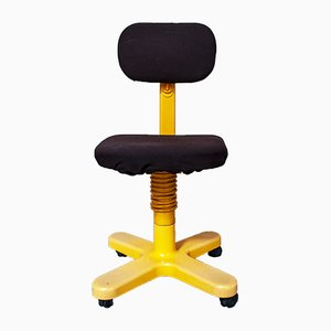 Vintage Italian 45 Swivel Chair by Ettore Sottsass for Olivetti Synthesis, 1960s