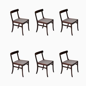 Danish Rungstedlund Dining Chairs by Ole Wanscher for Poul Jeppesens Møbelfabrik, 1950s, Set of 6