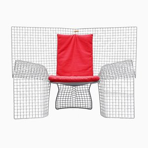 Volare Lounge Chair by D'Urbino, Lomazzi & Mittermair for Zerodesigno, 1992