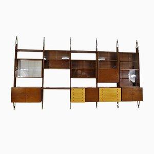 Large Vintage Modular Wall Unit from Jitona, 1960s