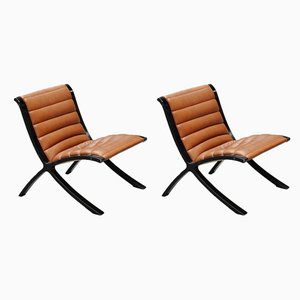 X Chairs by Peter Hvidt & Orla Mølgaard Nielsen for Fritz Hansen, 1979, Set of 2