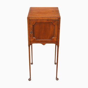 Antique Georgian Mahogany Bedside Cabinet