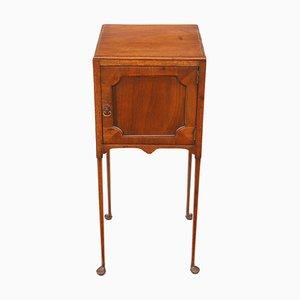 Table de Chevet Géorgienne Antique en Acajou