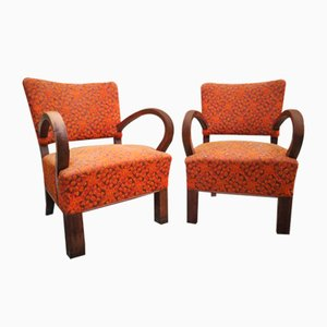 Vintage Lounge Chairs from Thonet, 1930s, Set of 2