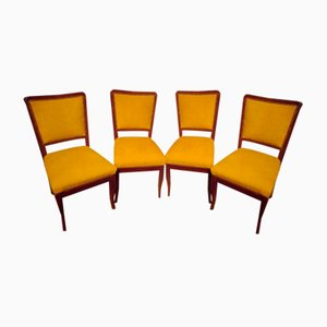 Art Deco Dining Chairs, 1930s, Set of 4
