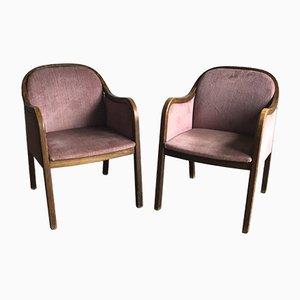 Sessel im Stil des Art Déco, 1950er, 2er Set