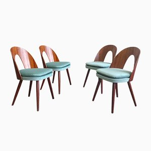 Mid-Century Dining Chairs by Antonín Šuman for MIER, 1960s, Set of 4