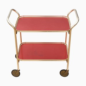 Vintage Serving Bar Cart, 1950s