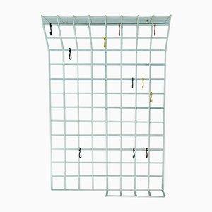 Vintage Wire Coat Rack by Karl Fichtel for Drahtwerke Erlau. 1950s