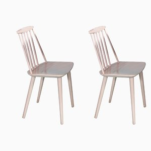 Mid-Century Model J77 Dining Chairs by Folke Pålsson for FDB Møbelfabrik, Set of 2