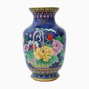 Große antike japanische Vase