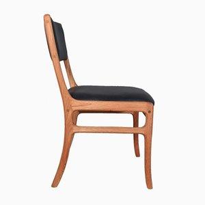Chaise de Salle à Manger Modèle PJ 412 en Acajou par Ole Wanscher pour Poul Jeppesens Møbelfabrik, 1960s