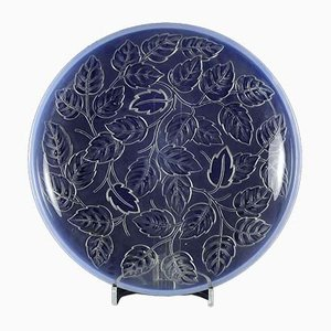Blue Dish by Barolac, 1930s