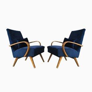 Poltrone in stile Art Déco di TON, anni '60, set di 2