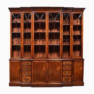 Antikes Bücherregal aus Mahagoni