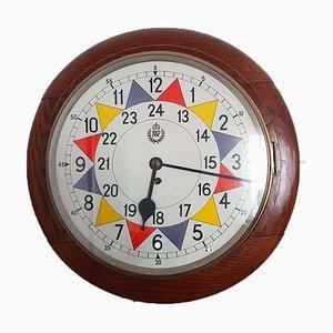 Uhr mit Gehäuse aus Mahagoni von Elliots of Newbury, 1941