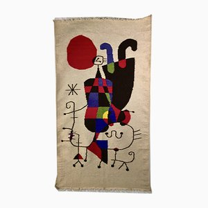 Tapestry by Joan Miro, 1970s