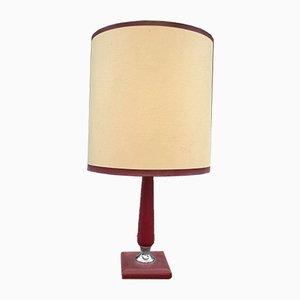 Lámpara de escritorio francesa de Tanner, años 50