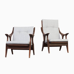 Model Knot Lounge Chairs from De Ster Gelderland, 1960s, Set of 2