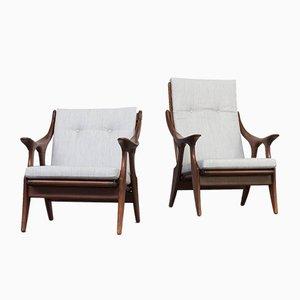 Modell Knot Sessel von De Ster Gelderland, 1960er, 2er Set