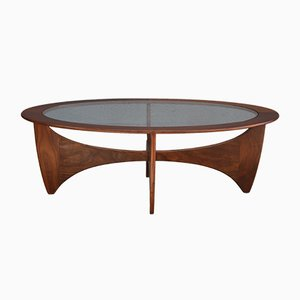Mid-Century Oval Astro Coffee Table by Victor Wilkins for G-Plan, 1960s