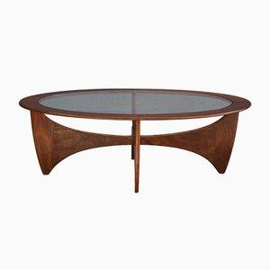 Table Basse Ovale Astro Mid-Century par Victor Wilkins pour G-Plan, 1960s