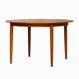 Vintage Extendable Dining Table from Skovmand & Andersen, 1960s