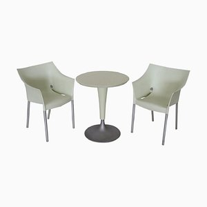 DrNo Garden Table & Chairs Set by Philippe Starck for Kartell, 1990s