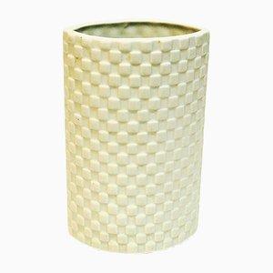 Jarrón finlandés de cerámica de Kaarina Aho para Arabia, años 60