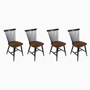 Danish Dining Chairs from Billund Møbelfabrik, 1950s, Set of 4