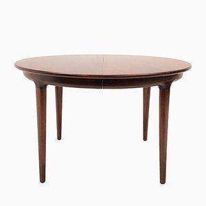 Tavolo da pranzo in palissandro di Johannes Andersen per Uldum Møbelfabrik, anni '60