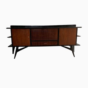 Credenza Mid-Century in palissandro, anni '50