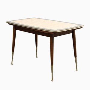 Mesa de comedor con altura regulable, años 50