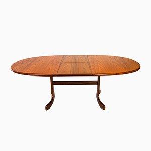 Mesa de comedor extensible vintage de teca de Ib Kofod Larsen para G-Plan, años 60